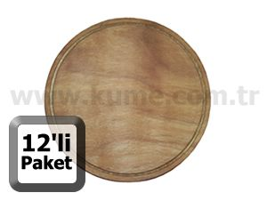 pizza tahtas 26 cm 12li paket pizza ev mutfak stoktangelsin com. Black Bedroom Furniture Sets. Home Design Ideas