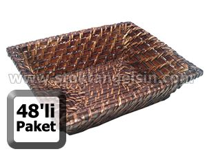 k k boy ekmek sepeti k eli 18x23 cm 48li paket ekmek sepetleri sepet stoktangelsin com. Black Bedroom Furniture Sets. Home Design Ideas